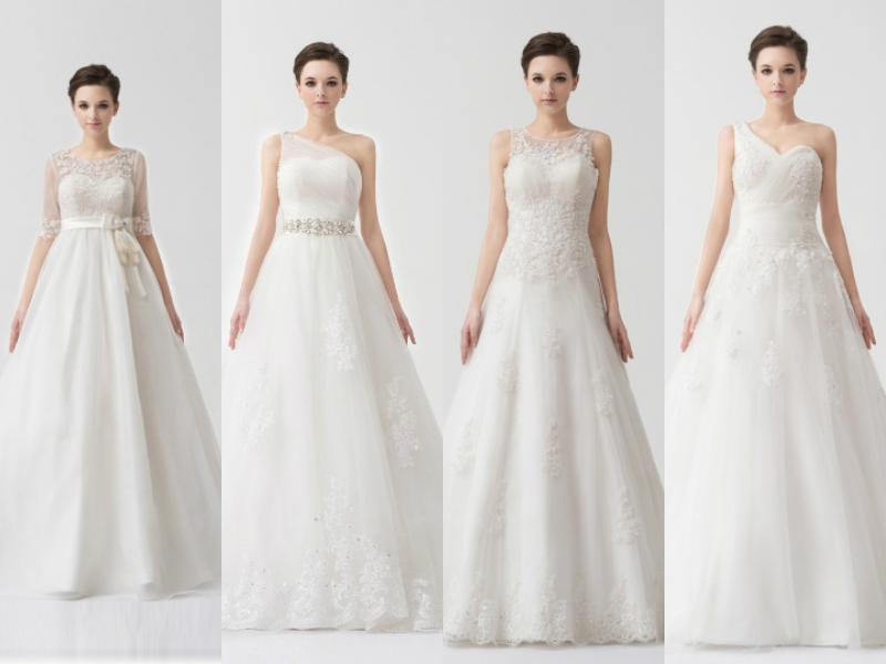 vintage lace princess wedding gowns