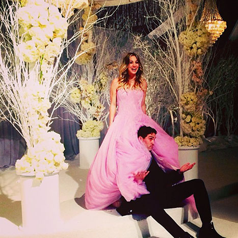 Kaley-Cuoco-wedding-pictures