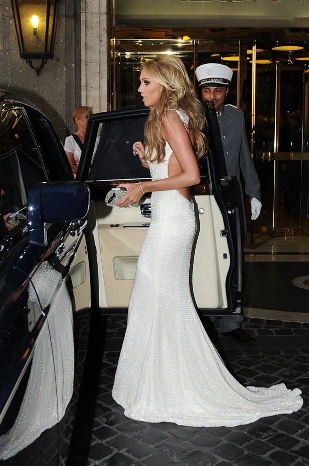 petra ecclestone backless mermaid wedding dress