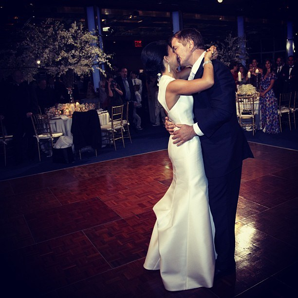 hilaria baldwin mermaid wedding dress