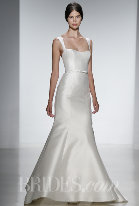 AMSALE simple wedding dress