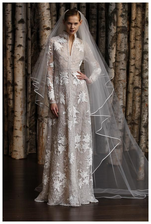 Naeem Khan wedding dress