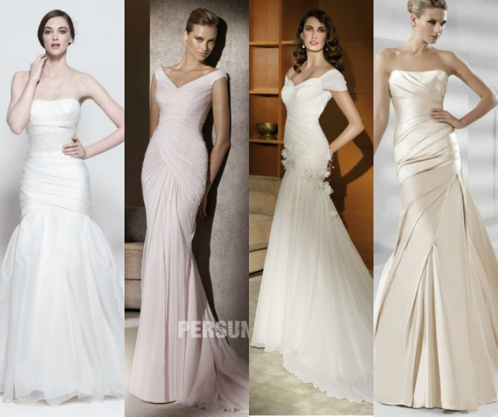 mermaid wedding dresses by dressesmallau