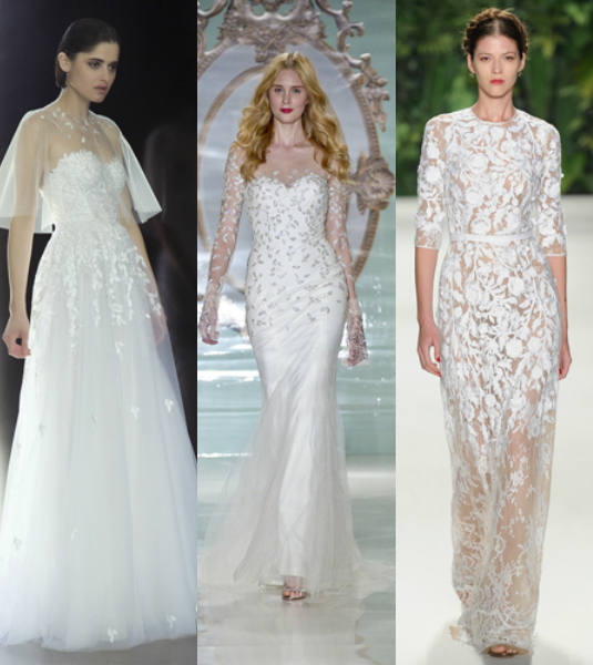 3d embroidery wedding dresses