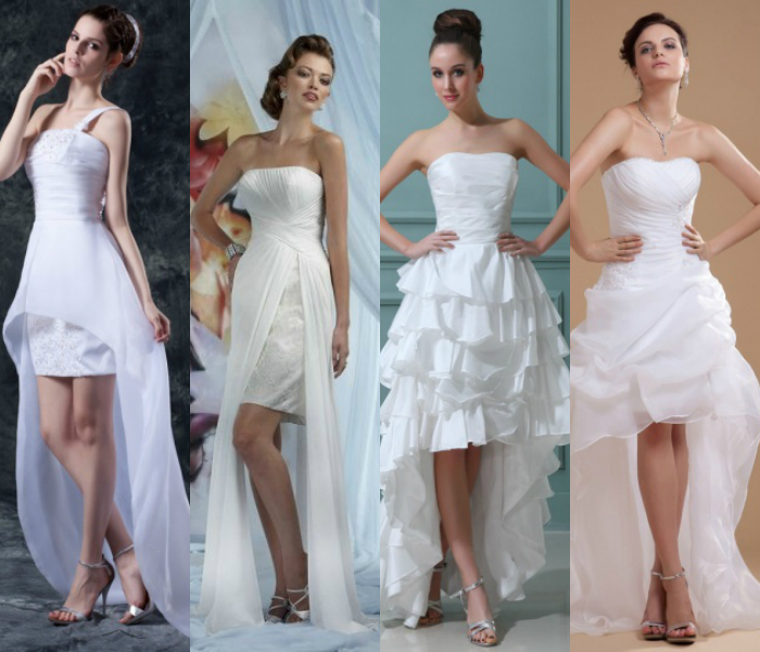 high low summer wedding gowns