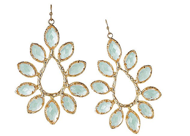 lake blue earring