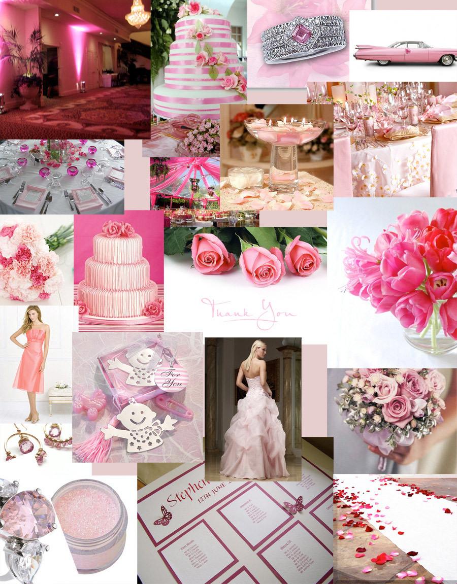 Pink Wedding Themes