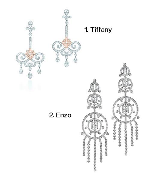 vintage long earrings