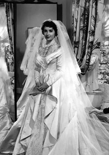 Grace Kelly's wedding photo