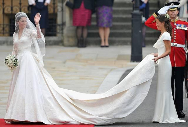 Kate Middleton's wedding photo