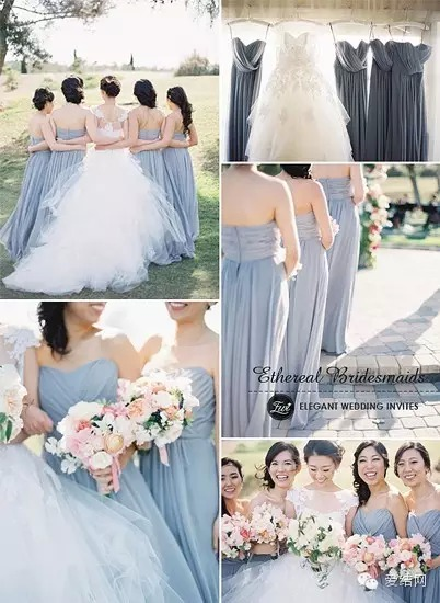 etheieal bridesmaids