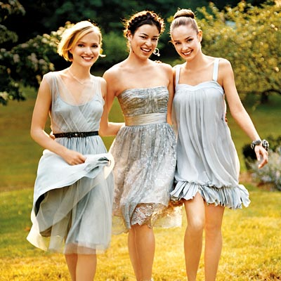 fashion wedding party dresses