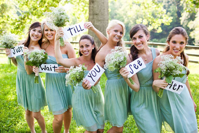 green bridesmaid dresses for outdoor wedding
