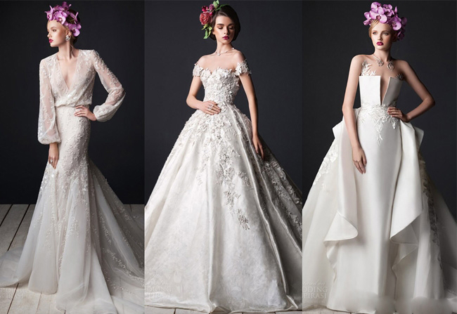 Rami Al Ali's latest wedding dresses in 2015