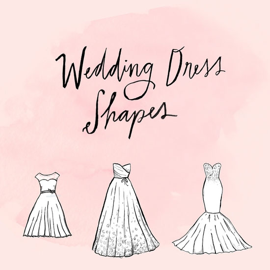 wedding dresses shape