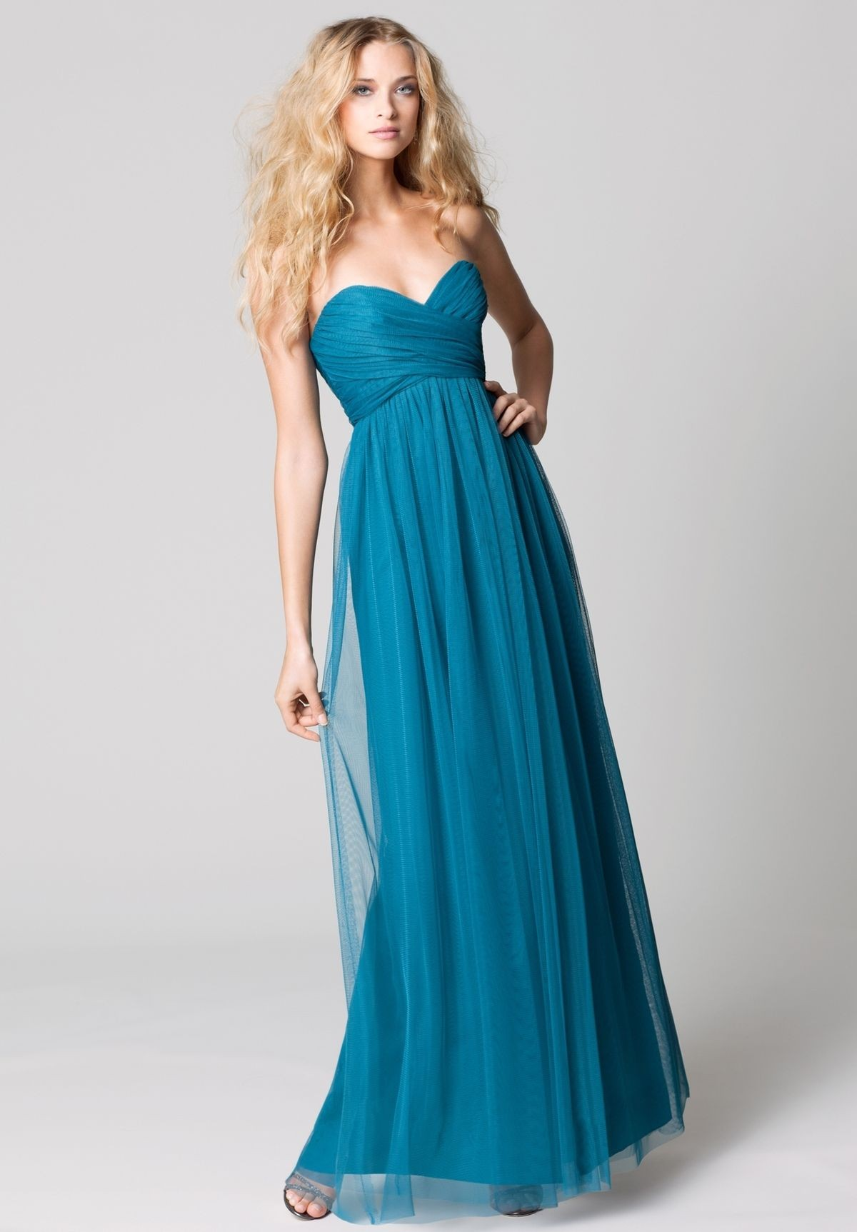 blue Bridesmaid Dresses 2015