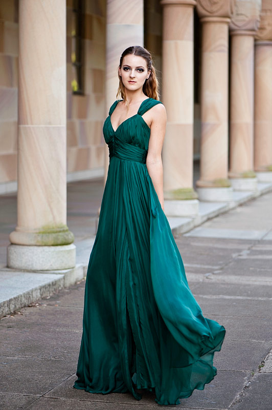 green Bridesmaid Dresses online