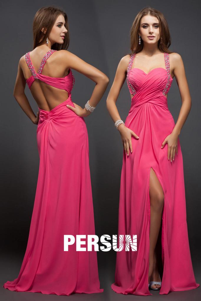 pink Formal Dresses AU