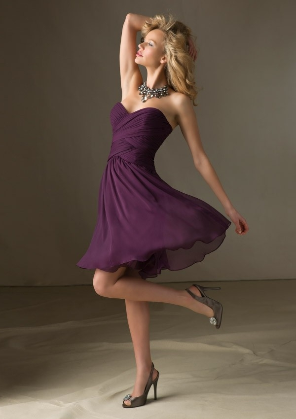 purple Bridesmaid Dresses Australia