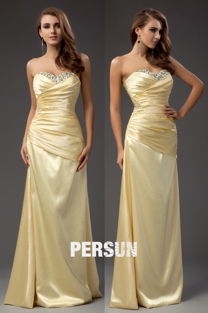 yellow Formal Dresses