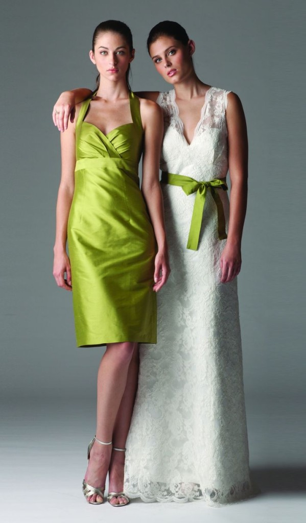 cheap green Bridesmaid Dresses