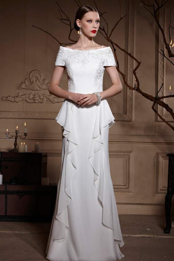 elegant white Evening Dresses