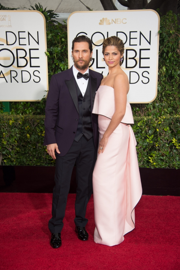 Camila Alves GOLDEN GLOBES 2015