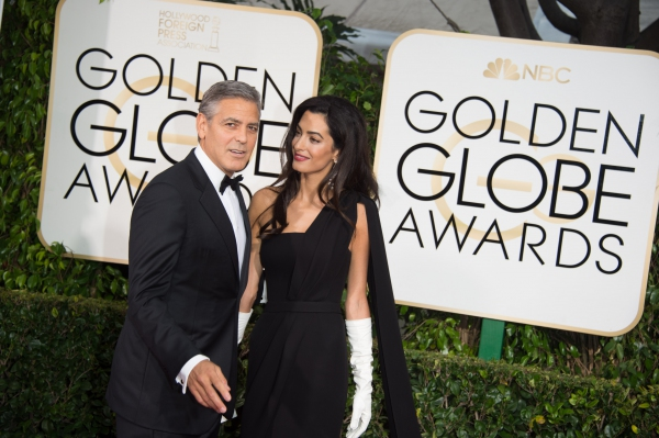 george clooney at the red carpet